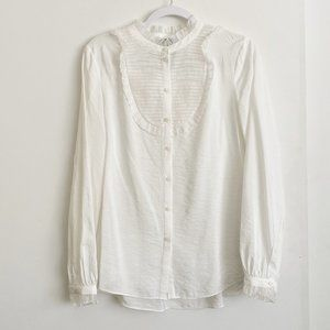 H&M Blouse with Ruffles